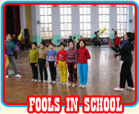 Fool in Schools logo