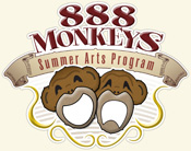 888 Monkeys logo